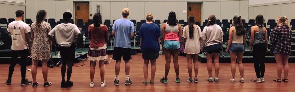 troupe line